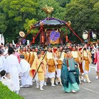 宮崎市宮崎神宮大祭2015の神武さまの日程、行列、交通規制、通行止めは?